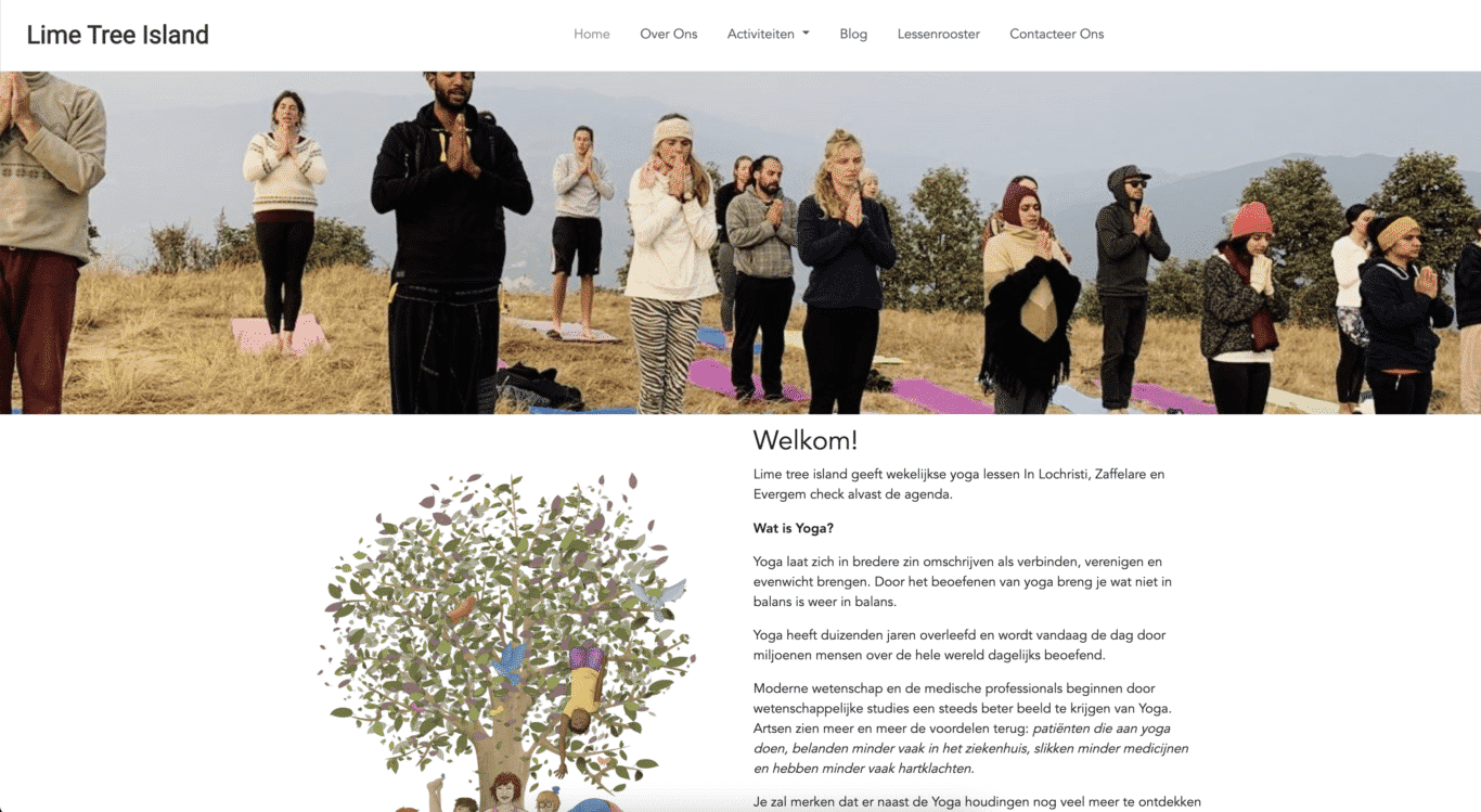 Website Lime Tree Island